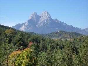 Pedraforva mit Abstiegsweg
