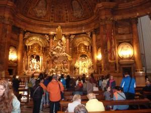 Kleine Impression von der Kathedrale von innen