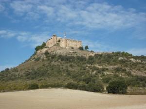 Namenlose Burg bei Berbasto
