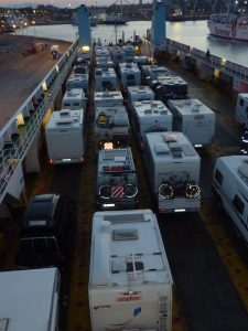 Camping an Bord